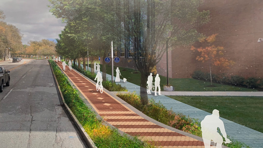 Indy Cultural Trail Expansion Rendering