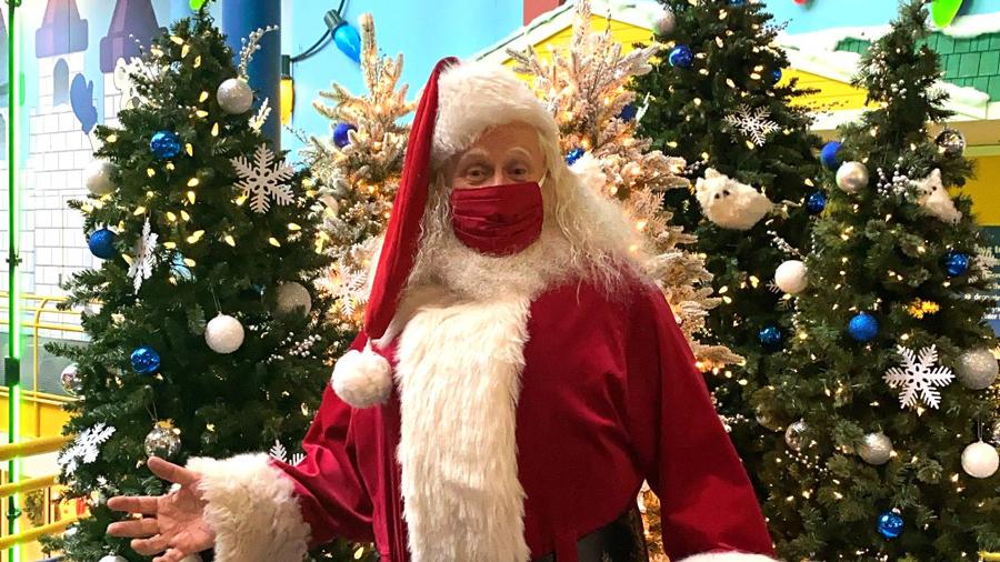 Santa at The Children's Museum