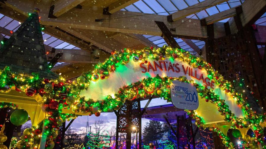 Christmas at the Zoo Santa's Village