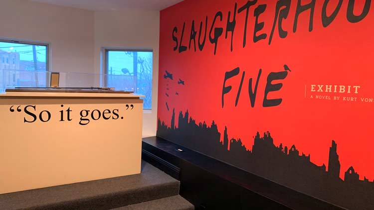 Slaugherhouse-Five Exhibit, KVML
