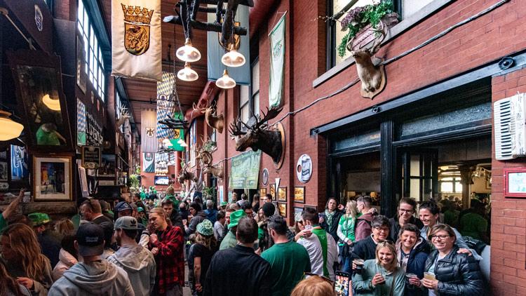 Rathskeller St. Patrick's Day