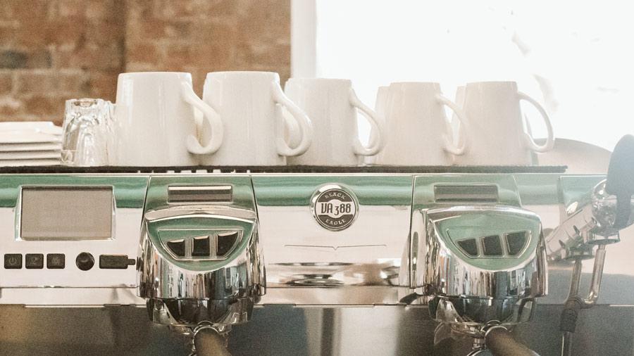 Espresso Machine at Bovocanti Coffee