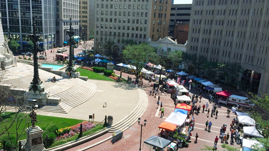 Arts Market on the Circle
