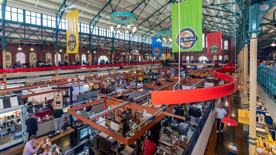 City Market interior