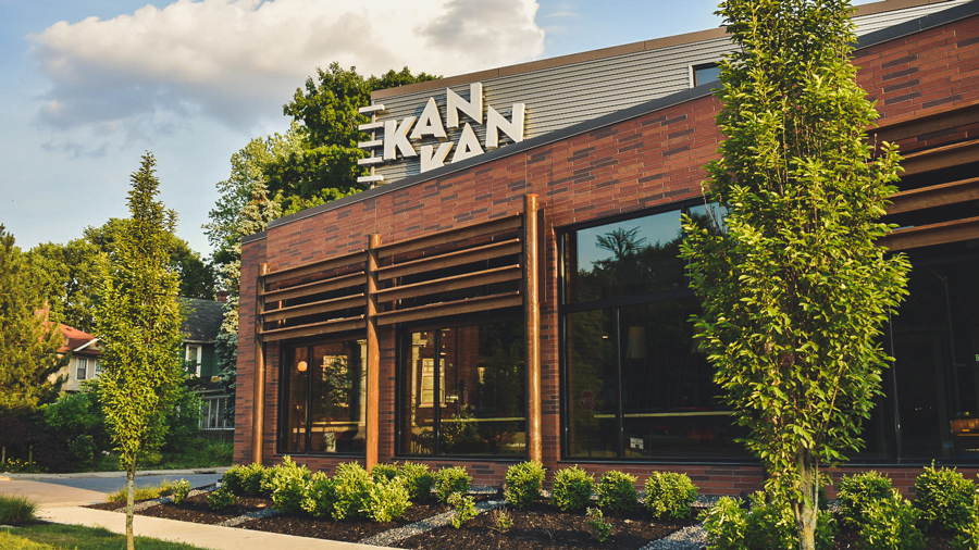 the exterior of Kan Kan cinema
