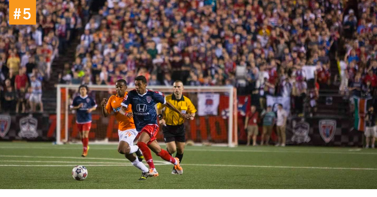 Home Opener - Saint Louis FC vs. Indy Eleven