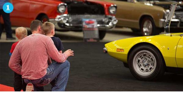 Mecum Spring Classic Car Auction