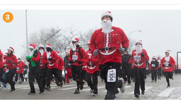 Santa Hustle Indy 5k and Half Marathon