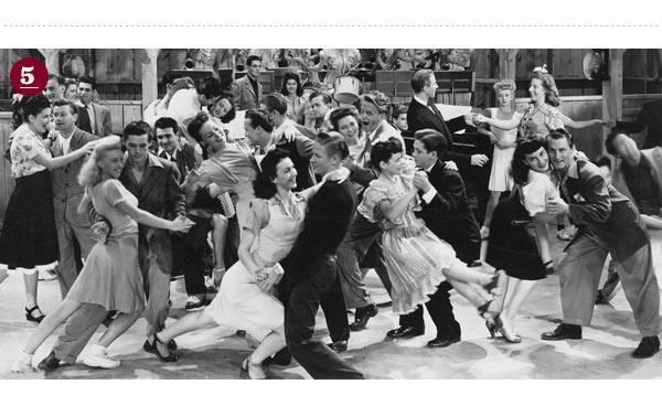 1940s Dance Hall